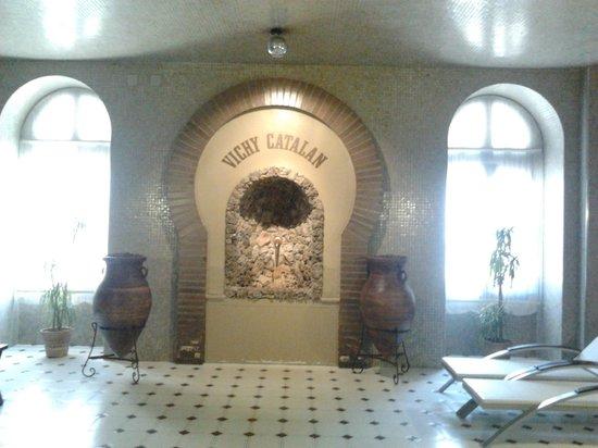 Hotel Balneario Vichy Catalan : Zona termal