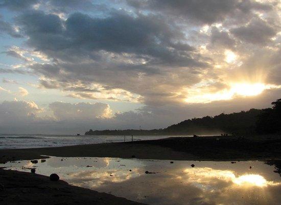 Chimuri Beach Retreat : The beach looking south