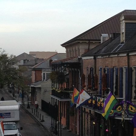 Bourbon Orleans Hotel: View from Balcony facing Bourbon St.
