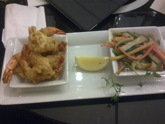 Courtyard by Marriott Warsaw Airport: Gambas