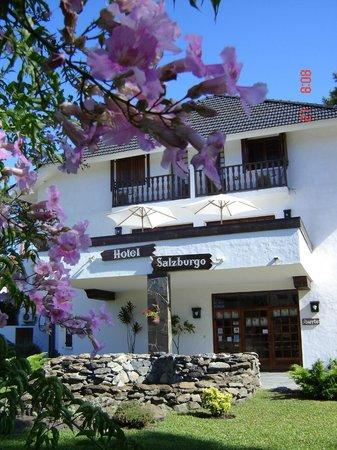 Hotel Salzburgo: Fente de Hotel