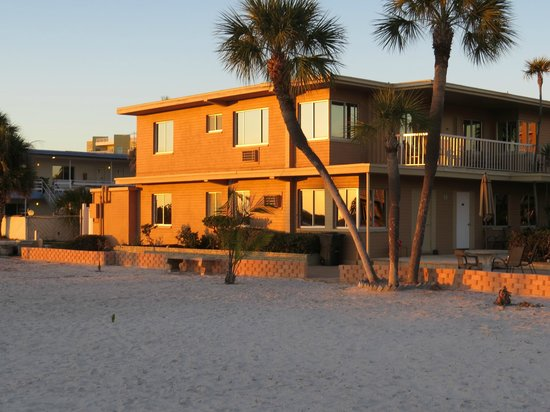 Treasure Island Ocean Club: our Gulf front 1 bedroom apartment on lower level