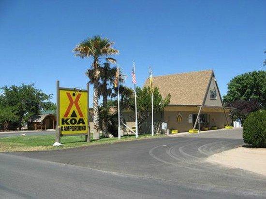 Kingman KOA : La reception du camping