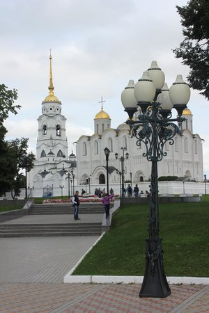 Holy Assumption Cathedral: Cathedral and around it