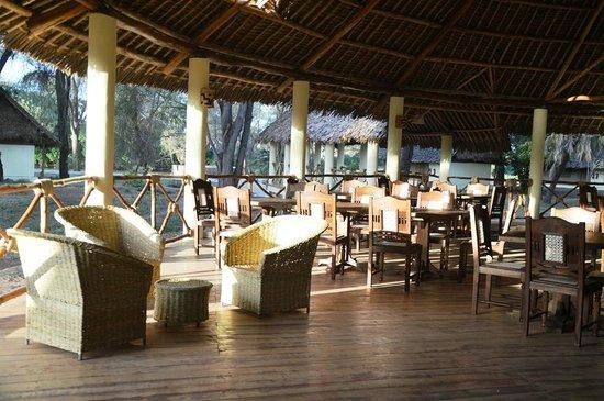 Doa-Doa Safari Club Tented Camp & Lodge : Ristorante