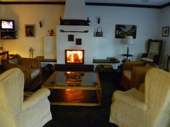 Hotel Salzburgo: Estufa