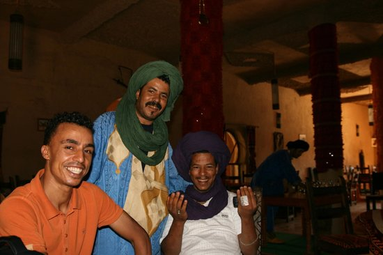 Hotel Nomad Palace: Ali, toujours souriant