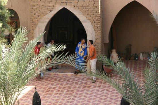 Hotel Nomad Palace: le calme du site..