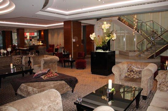 Hotel Palace Berlin : salon d'accueil