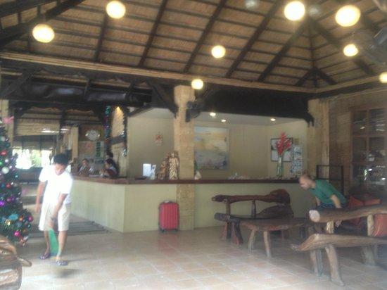 Sea Wind Boracay Island : Reception/Lobby
