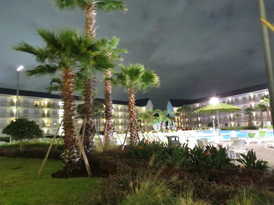 Avanti International Resort : pool area at night