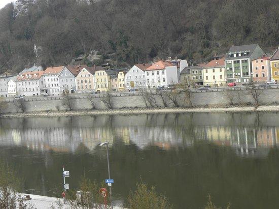 Hotel Passauer Wolf: Blick aus dem Fenster