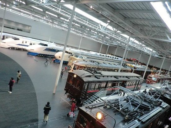 SCMAGLEV and Railway Park: メインの展示室