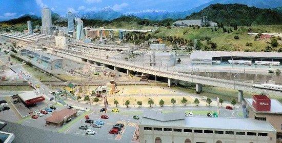 SCMAGLEV and Railway Park: 巨大ジオラマ