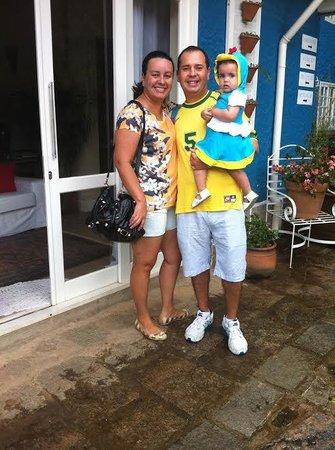 Em família na Pousada Villa Della Vita