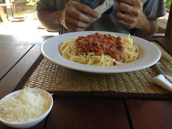 The Living Room Italian Restaurant - Thong Nai Pan Yai: Delicious Bolognese