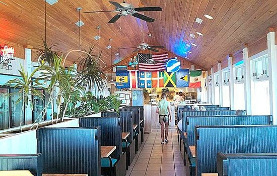 Sears Landing Grill & Boat: interior remodeled in Jan. 2014