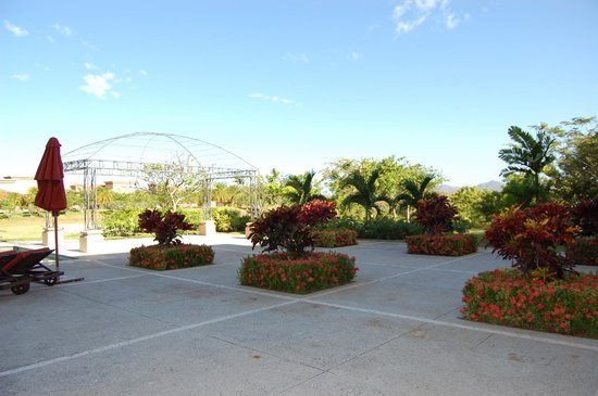 Reserva Conchal Beach Resort, Golf & Spa: Patio near room