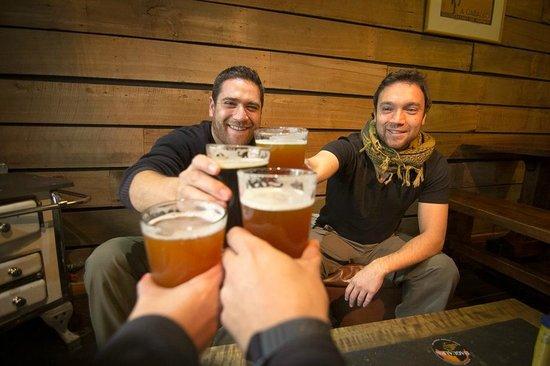 Cerveza Baguales: buena chela