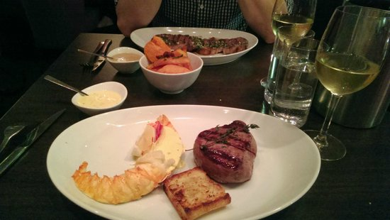 The Bull Steak Expert: Lomo fillet steak with lobster