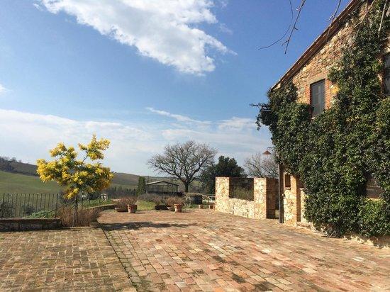 Azienda Agraria Le Crete Agriturismo: casale