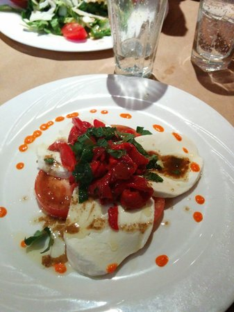 Da Nico: Mozza salade