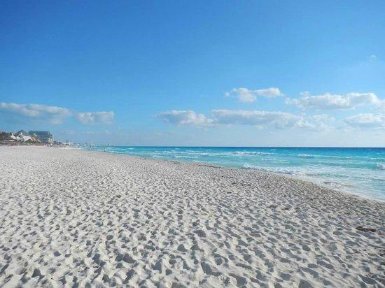 The Royal Caribbean: The beach