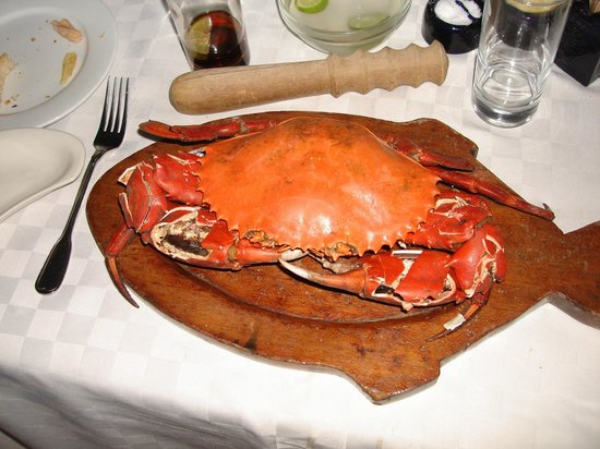 Tamarind Restaurant: Whole Steamed Mangrove Crab