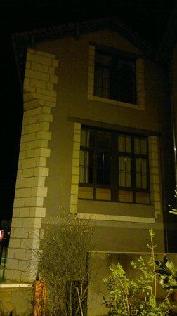 ibis Sarlat : La habitación 114 vista desde el parking