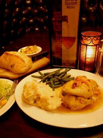 Amber Grill: Roasted Half Chicken