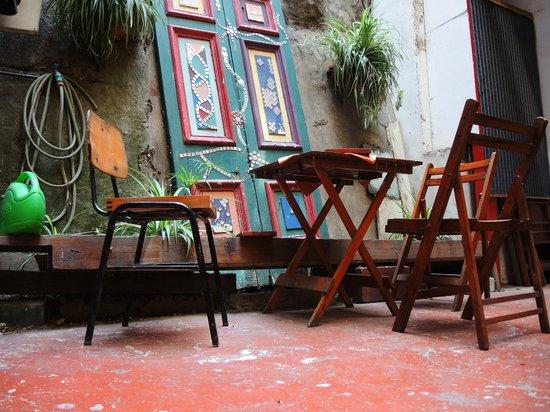 Hotel Da Vinci Valparaiso: lovely atrium