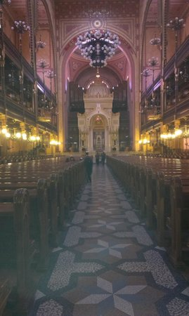 Große Synagoge (Nagy zsinagóga): Interior of the Great Synagogue