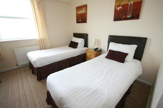 The Pentire Hotel: Ocean Facing Twin Room