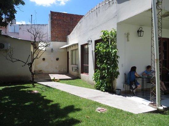 Casa de Borgona : garden area