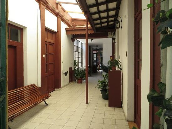 Casa de Borgona : hall way