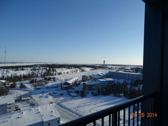 Coast Fraser Tower: Balcony view