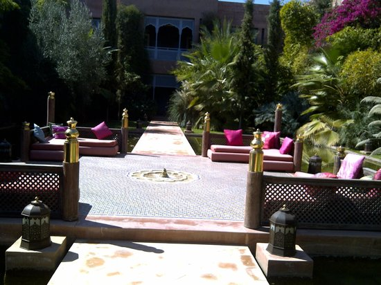 Sahara Palace Marrakech: Courtyard