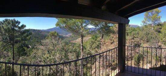 Hotel Miradero del Cambron : Vista desde la habitación