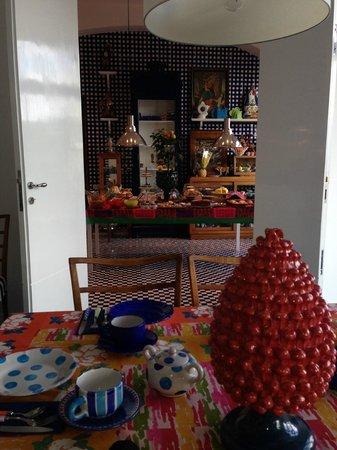 Maison La Minervetta: To the kitchen, for breakfast