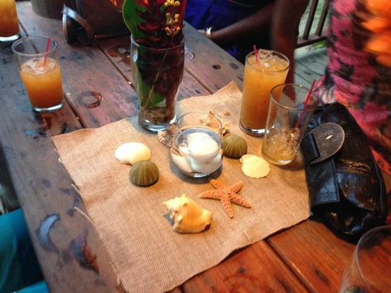Punta Lava Beach Bar and Grill : Delicious drinks!