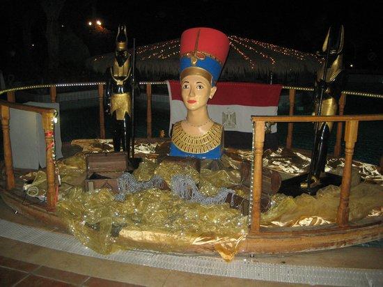 Club Magic Life Sharm el Sheikh Imperial: Egyptiam Theme night decorations