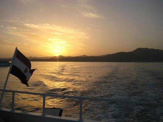 Club Magic Life Sharm el Sheikh Imperial: Sunset over Sharm
