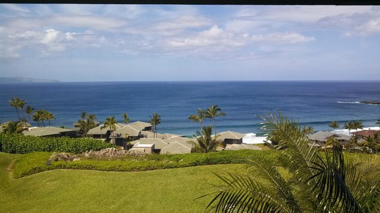 The Kapalua Villas, Maui: View from our Villa-Spectacular!