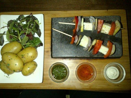 Stone Lounge: My dinner