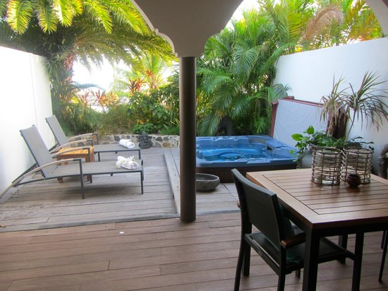 Baoase Luxury Resort: Suite #2 patio