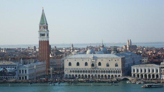 San Giorgio Maggiore: Place St Marc vue du haut du Campanile