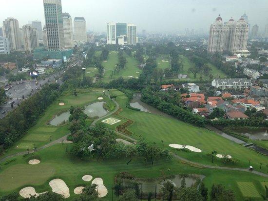 Hotel Mulia Senayan, Jakarta : The View