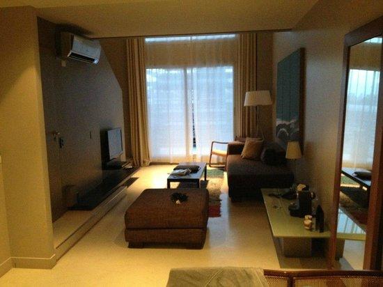 Atempo Design Hotel: Part of the room.