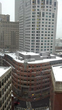 Hyatt Regency Boston: View from room 1614