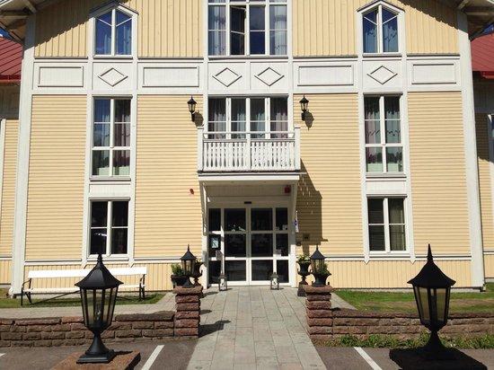 Färjestaden, Σουηδία: Entrén till Skansen Spa